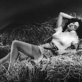 Jane Russell In The Outlaw by Peter Nowell