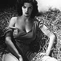Jane Russell In The Outlaw Wow by Peter Nowell