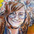 Janis Joplin by Bryan Bustard