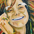 Janis Joplin  by Joseph Palotas
