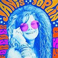 Janis Stamp Painting by Dan Sproul