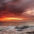 January Sunrise by Evgeni Dinev