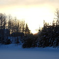 January Winter Morninng by Kent Lorentzen
