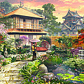 Japan Garden Variant 2 by Dominic Davison