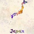 Japan In Watercolor by Pablo Romero