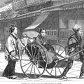 Japan: Rickshaw, 1874 by Granger