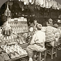 Japan: Shoe Store, C1910 by Granger