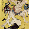 Japan: Sumo Wrestling by Granger