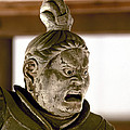 Japan: Warrior Statue by Granger