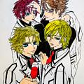 Japanese Anime Characters. by John Greene