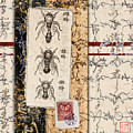 Japanese Bees by Carol Leigh