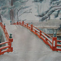 Japanese Bridge by Zoe Nicholson
