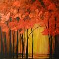 Japanese Forest by Sabina Surya Naya