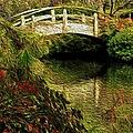 Japanese Garden by Dennis Nelson