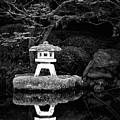 Japanese Garden Reflection by Janet Ballard