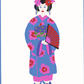 Japanese Girl by Barbara Leonard
