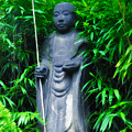 Japanese House Monk Statue by Bill Cannon