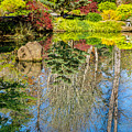 Japanese Reflection Pond by Keith Smith