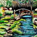 Japanese Tea Gardens by Elizabeth Robinette Tyndall