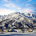 Japanese Winter Resort by Anthony Dezenzio