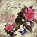 Jardin De Roses by Mindy Sommers