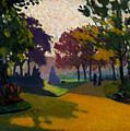 Jardin Du Luxembourg by Albert Marquet