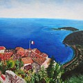 Jardin Exotique, Eze, France by CE Dill