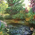 Jardin Giverny by Madeleine Holzberg