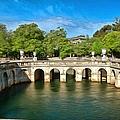 Jardins De La Fontaine Nimes by Scott Carruthers