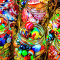 Jars Of Everyday Objects by Garry Gay