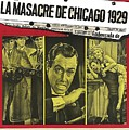 Jason Robards As Al Capone  Spanish Theatrical  Poster The St. Valentines Day Massacre 1967  by David Lee Guss