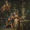 Jason Swearing Eternal Affection To Medea by Jean Francois de Troy