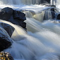 Jasper Falls Closeup by Larry Ricker