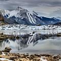 Jasper Medicine Lake Reflections by Adam Jewell