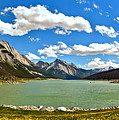 Jasper Medicine Lake Spring Panorama Crop by Adam Jewell