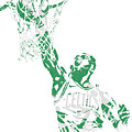 Jaylen Brown Boston Celtics Pixel Art 12 by Joe Hamilton