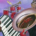 Jazz At Sunset by Heidi Meulenberg