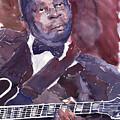 Jazz B B King by Yuriy Shevchuk