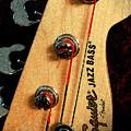 Jazz Bass Headstock by Todd Blanchard