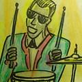 Jazz Drummer by Troix Johnson