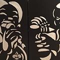 Jazz Duel by Gilda Thomas