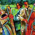 Jazz In The Garden by Debra Hurd