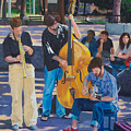 Jazz In The Park by Lou Spina