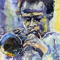 Jazz Miles Davis 12 by Yuriy  Shevchuk