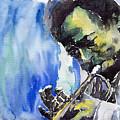 Jazz Miles Davis 5 by Yuriy Shevchuk