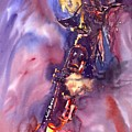 Jazz Miles Davis Electric 3 by Yuriy  Shevchuk