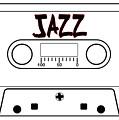 Jazz Music Tape Cassette by Bigalbaloo Stock