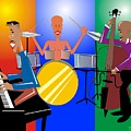 Jazz Trio by Walter Oliver Neal