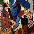 Jazz Trio  by Valerie Vescovi