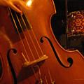Jazz Upright Bass by Anita Burgermeister